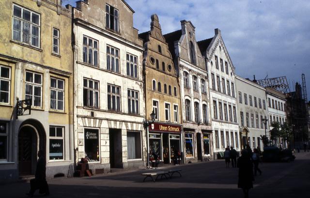 Am Markt, Wismar, DDR