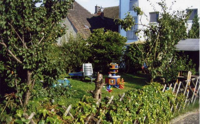 Leafy garden - Düsseldorf, Hamm