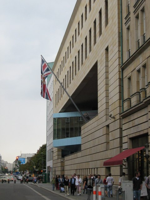 Britische Botschaft, Wilhelmstrasse