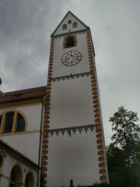 Der Turm von St. Mang (The tower of St. Mang)
