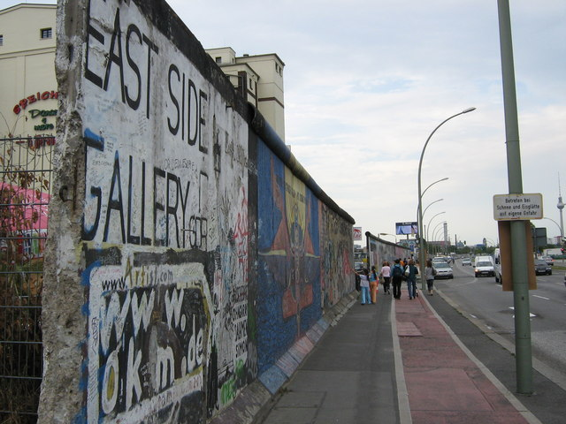 East Side Gallery, Mühlenstrasse