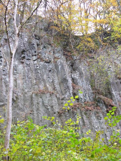 Basaltklippe, Wolfsschlucht