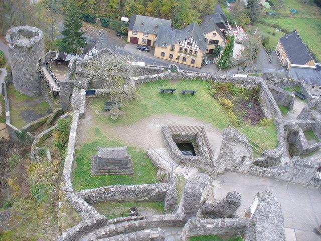 Romantische Ruine Niederburg