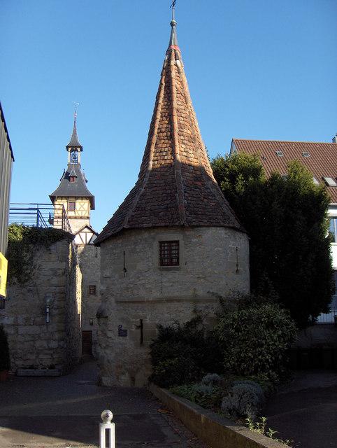 Marbach: Stadtbefestigung