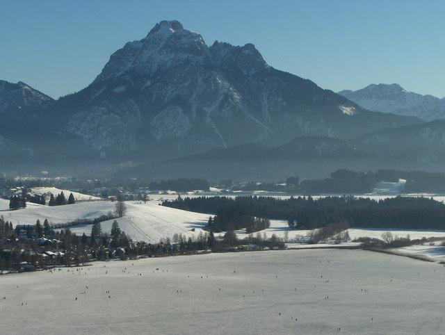 Blick von der Burg Hopfen