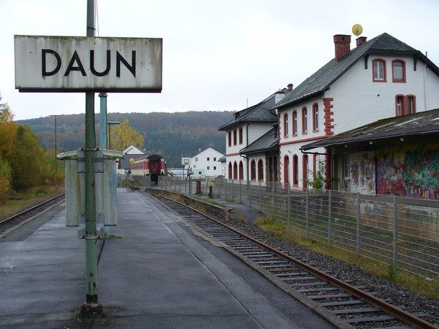 Bahnhof, Daun