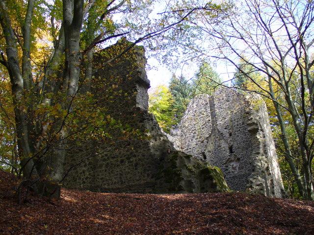 Ruine am Nerother Kopf