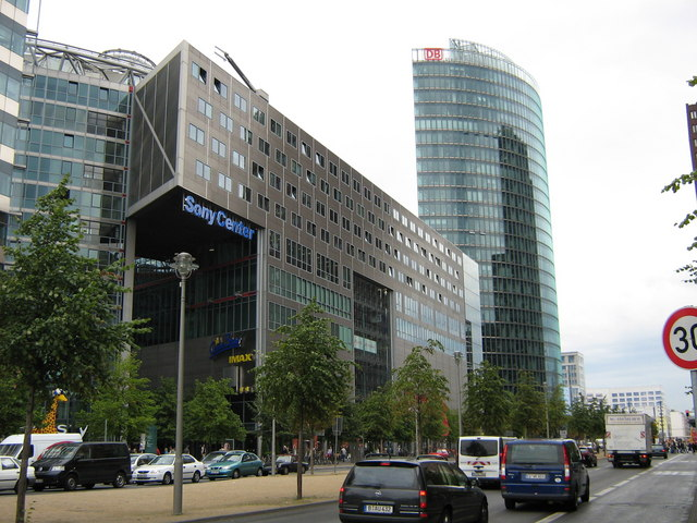 Sony Center and Deutsche Bahn headquarters