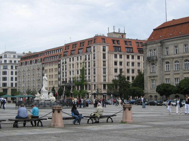 Gendarmenmarkt und Markgrafenstraße