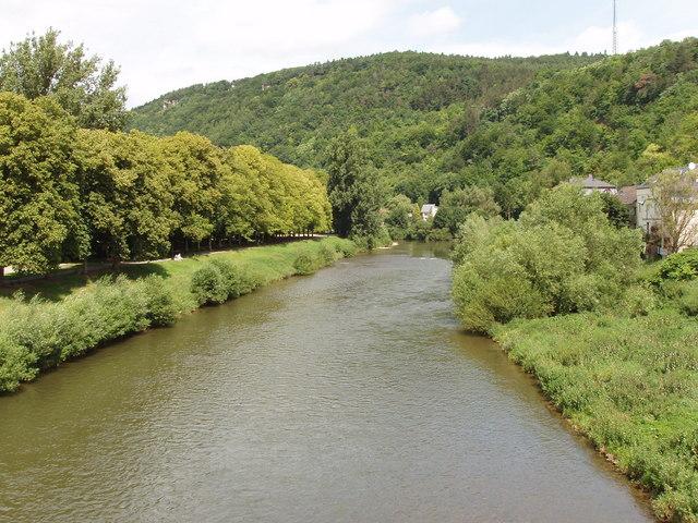 Sauer bei Echternacherbrück