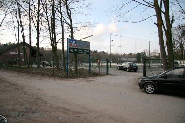 """Fußballplatz """"Volksbank Stadion"""""""