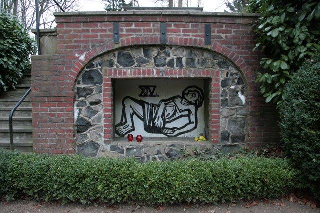 Schaager Kreuzgarten, Station XIV