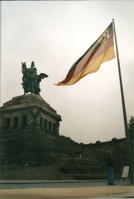 Das Kaiser-Wilhelm-Denkmal am Deutschen Eck.