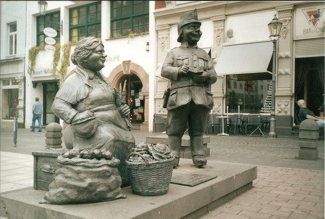 Muenzplatz, Koblenz