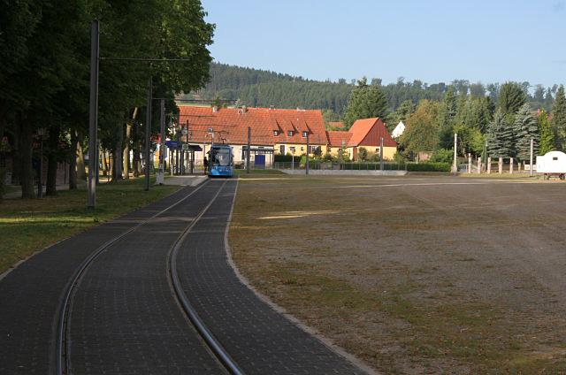 Tramendhaltestelle, Hessisch Lichtenau