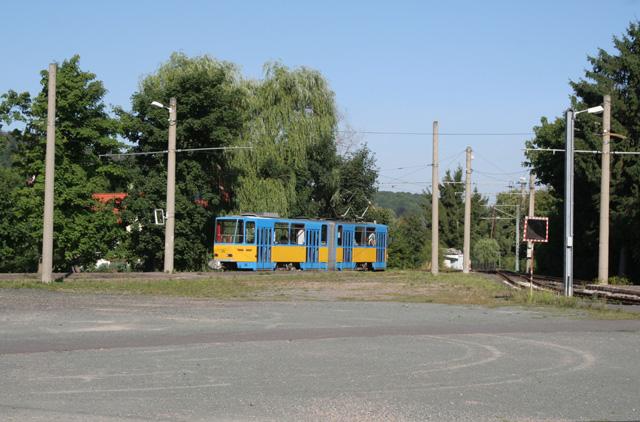 Thüringerwaldbahn - Gleisdreieck Waltershausen