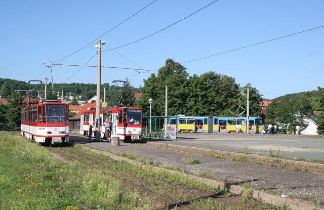Thüringerbahn - Gleisdreieck Waltershausen
