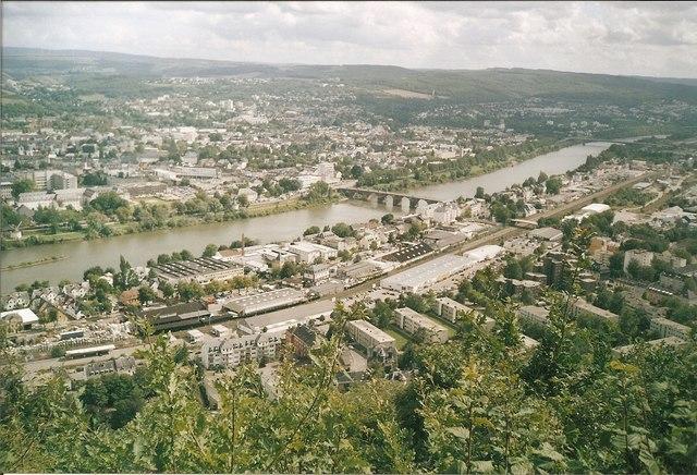 Trier von der Mariensaeule