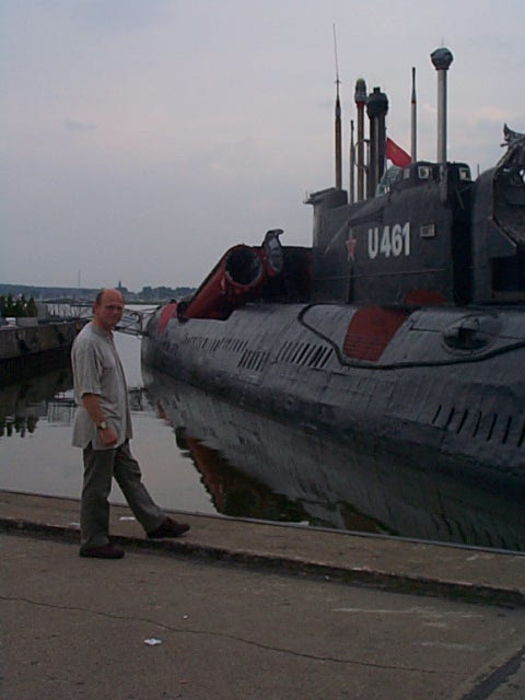 Russian/East German sub at Peenemunde