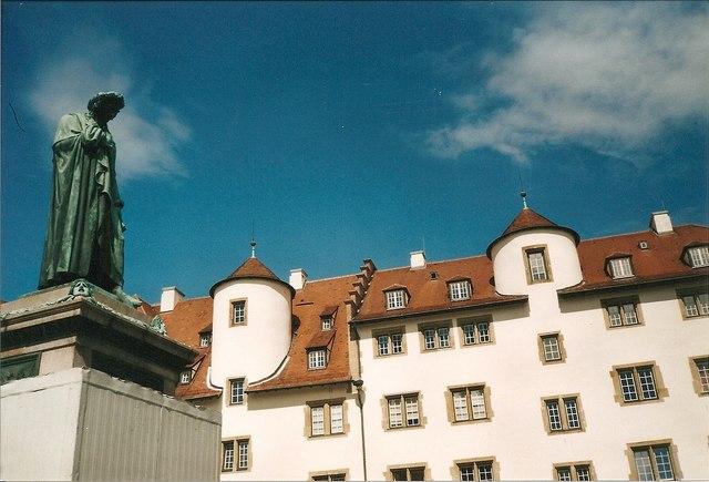 Schillerstatue, Stuttgart
