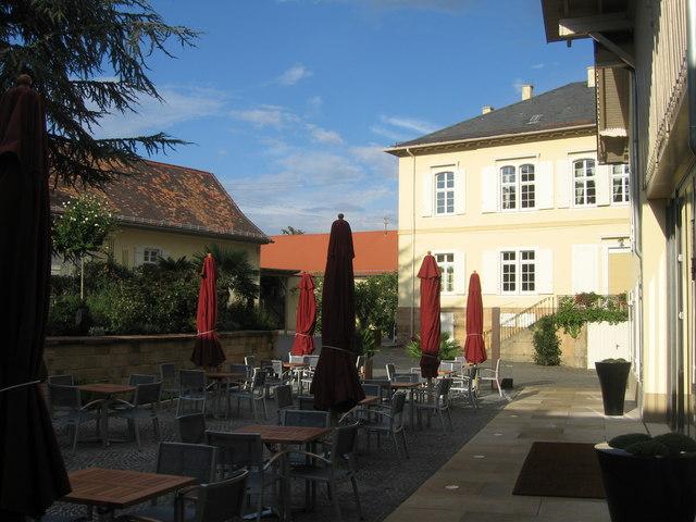 Restaurant terrace - Deideshein