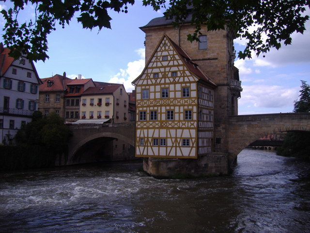 Altes Rathaus,  Bamberg.