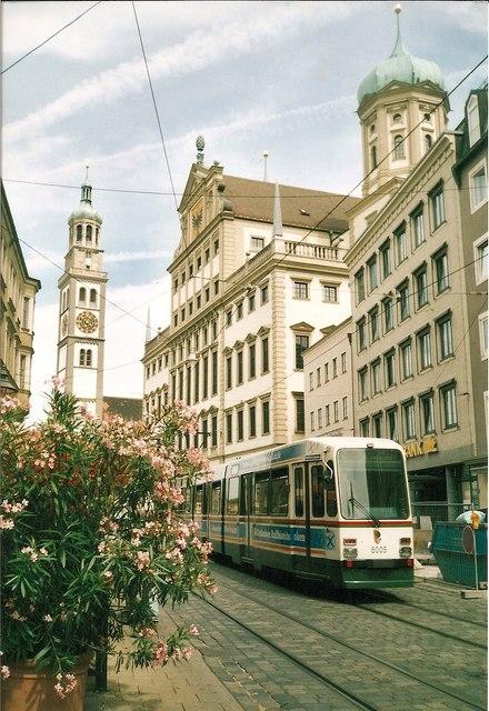 Perlachturm und Rathaus, Augsburg