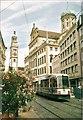 UPU4059 : Perlachturm und Rathaus, Augsburg von Colin Smith