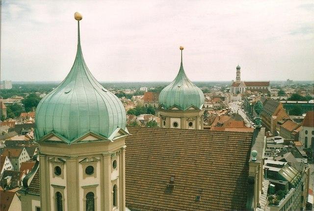Rathauskuppeln, Augsburg