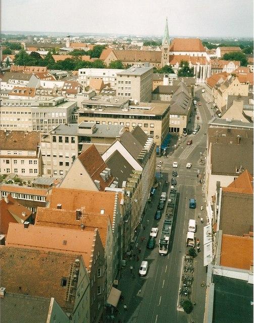 Karolinenstrasse, Augsburg