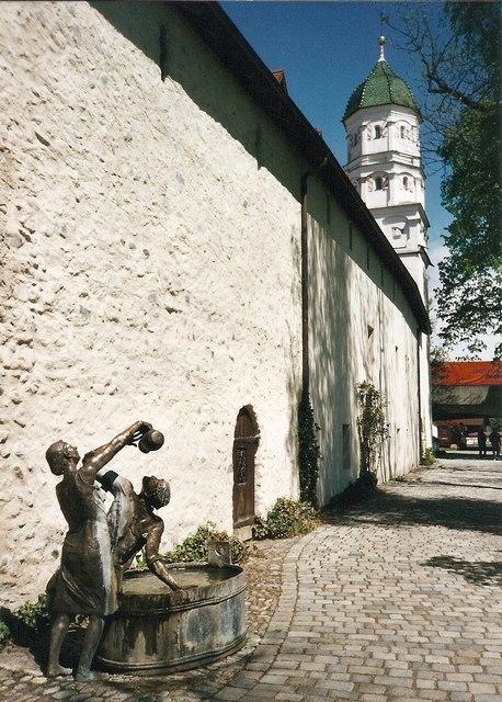 Stadtmauer, Wangen im Allgaeu