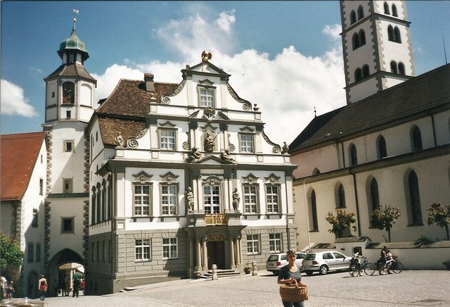 Rathaus, Wangen im Allgaeu