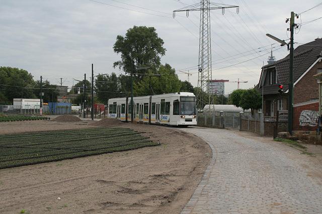 Strassenbahn am Landweg