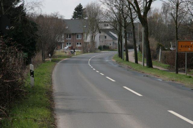Ortseingang Krefeld