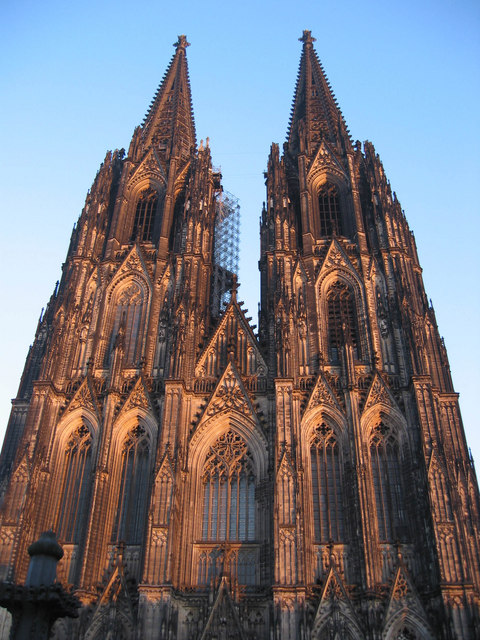 The front of Koln Kathedrale