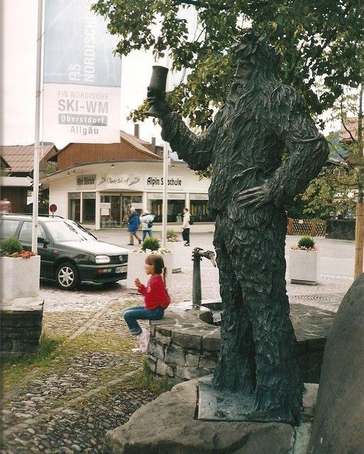 Wild Maennle, Oberstdorf