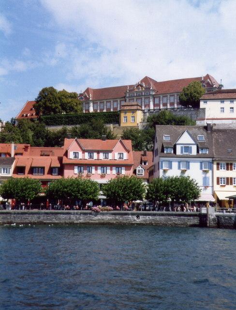 Meersburg - seeufer