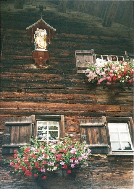 Alten Gerstrubener Blockhaus