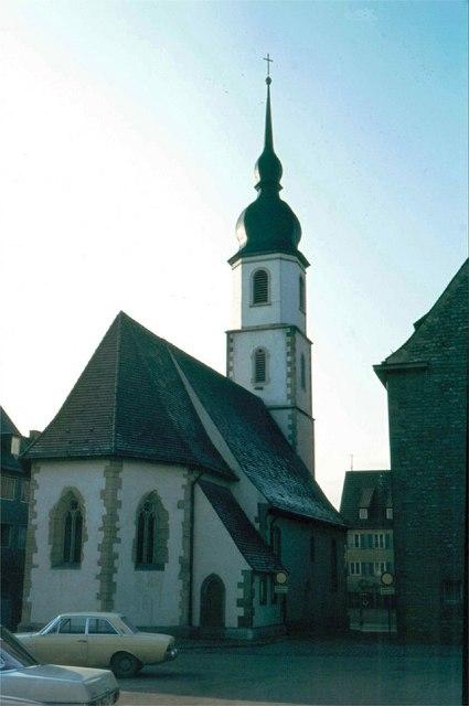 Liebfrauenkapelle in Crailsheim