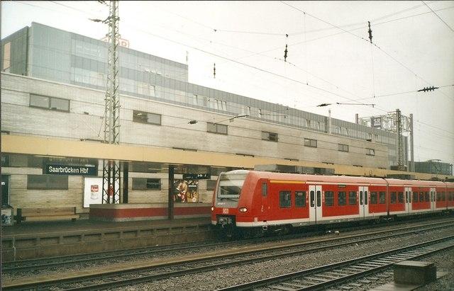 Saarbruecken Hauptbahnhof