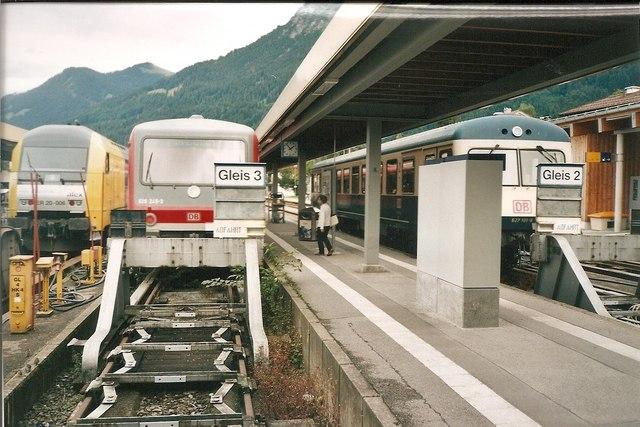 Oberstdorf Hauptbahnhof