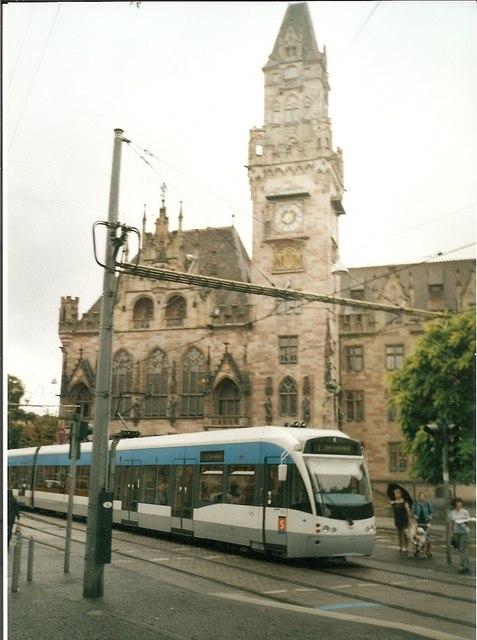 Rathaus, Saarbruecken