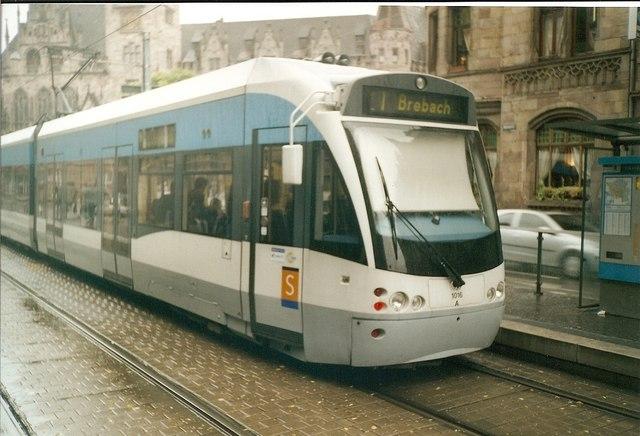 Strassenbahn, Saarbruecken