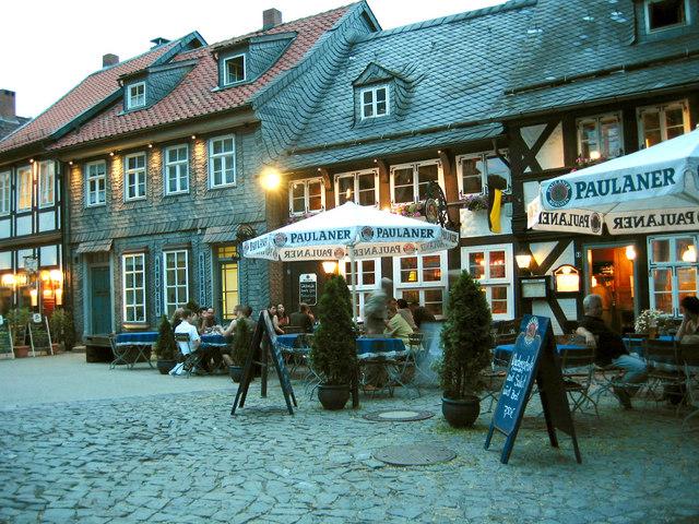 Marktplatz at dusk