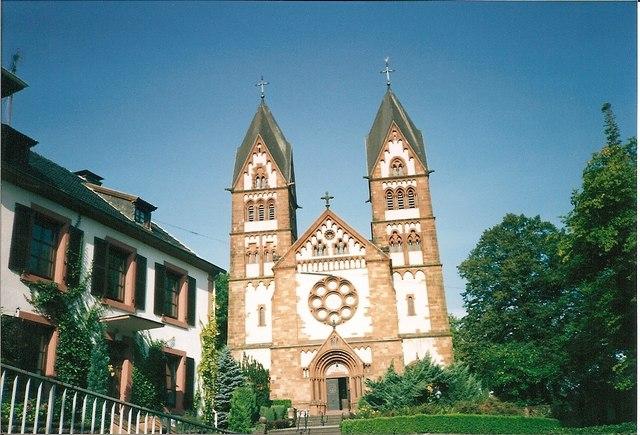 Lutwinuskirche, Mettlach