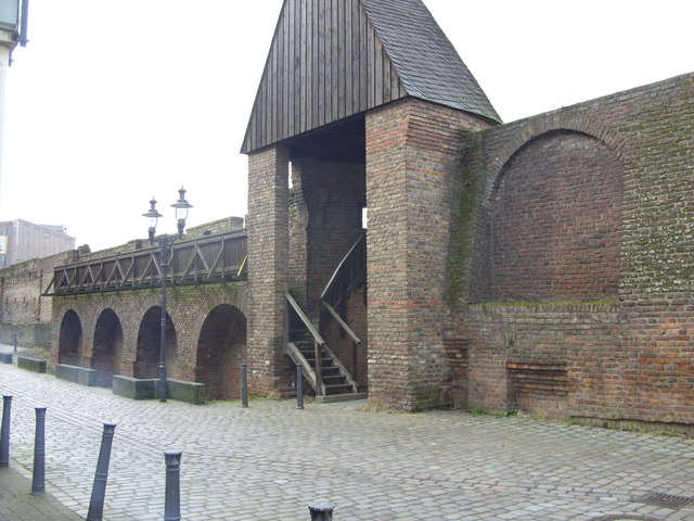 City wall Duisburg
