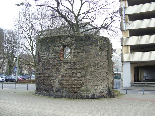 "City wall ""watch tower"", Duisburg"