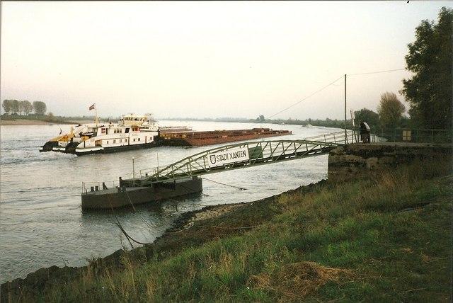 Der Rhein bei Xanten