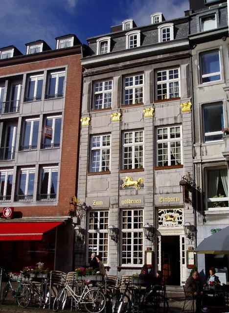 Zum Goldener Einhorn, Aachen