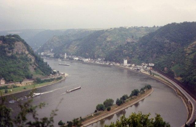 Rhine & St Goarshausen